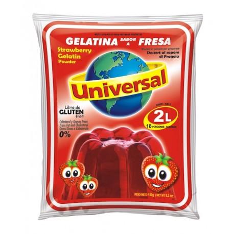 Dessert gélifié à la Fraise Universal 250g0g