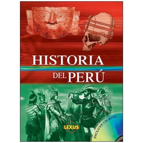 db139e9eea523 Livre d'histoire du Pérou Historia del Perú Ed. Lexus - EL INTI ...