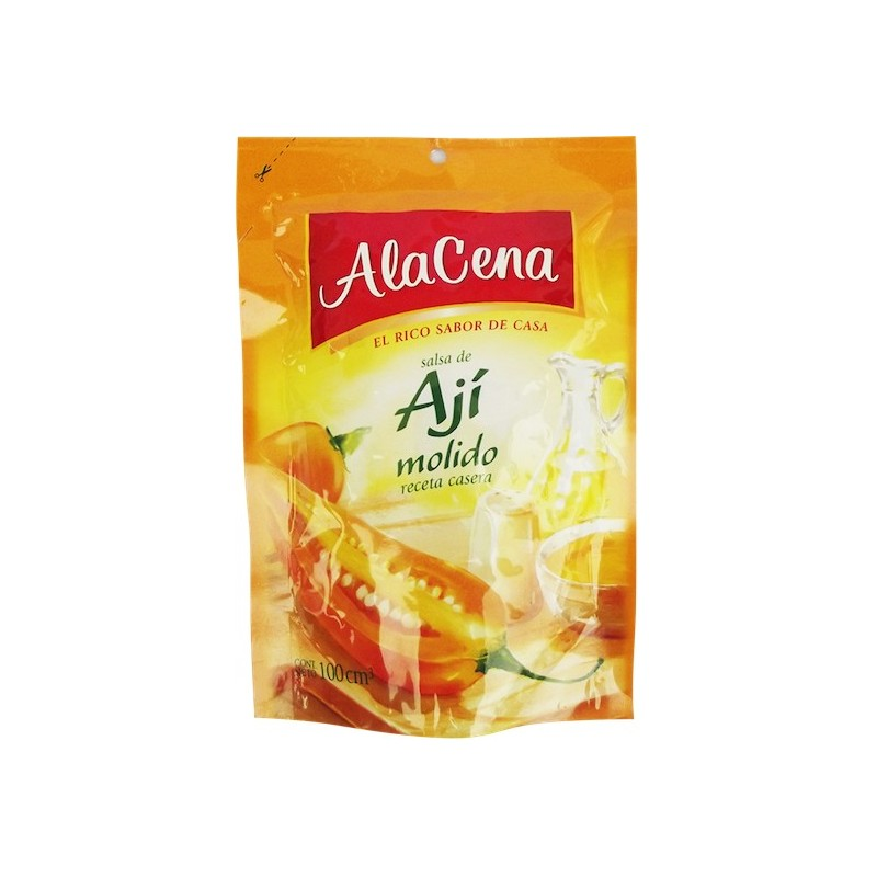 Ground Yellow Pepper Sauce AlaCena 85ml